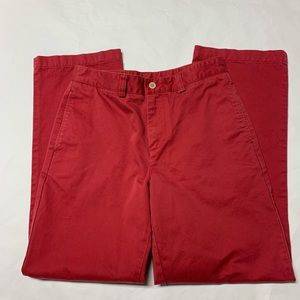 Vineyard Vines Red Chino Pants. Boys 16. EUC
